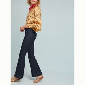 Pilcro high-rise flare jeans - Anthropologie